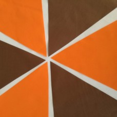 10m Orange and Brown Bunting
